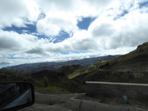 8 ème jour, en allant vers le volcan Quilotoa