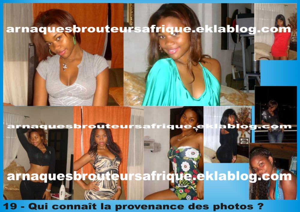 Qui connaît 18 - photos volées par des brouteurs ivoiriens pour arnaquer