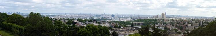 Panorama parisien