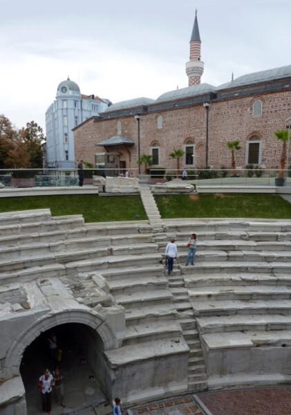Jour 8 - Plovdiv - La Mosquée Dzhumaya et le stade
