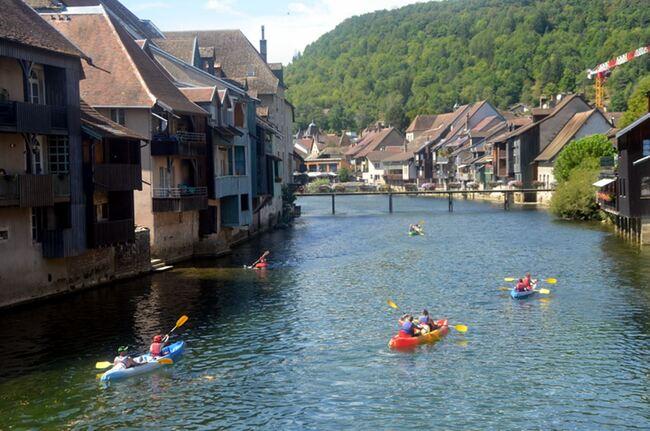 Vacances jurassiennes avec Arlette : Ornans et le musée Gustave Courbet