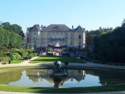 2012-07 Répétition au musée Rodin avec Mario Luraschi et Ghislain de Compreignac