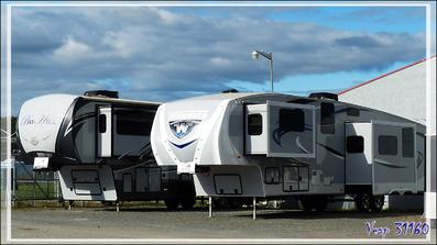Festival Western de Saint-Tite : c'est surtout le festival de la frime en caravane et camping-car ! - Mauricie - Québec - Canada
