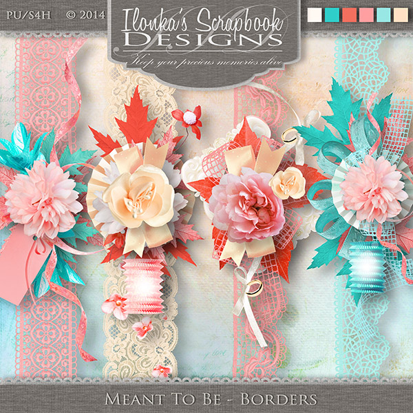 Meant To Be by Ilonka Scrapbook Designs