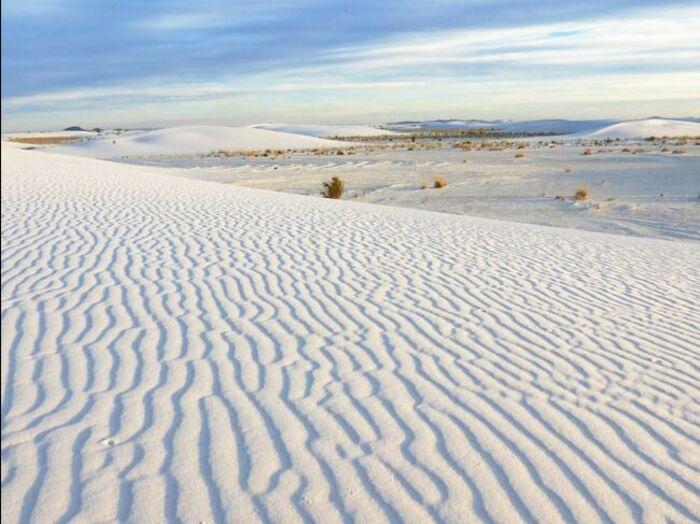 White Sands, un nouveau parc national vient de voir le jour aux Etats-Unis