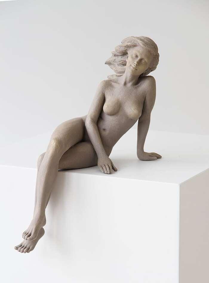 Les Sculptures féminines inspirées de la Beauté gracieuse de l'Art de la Renaissance par Luo Li Rong