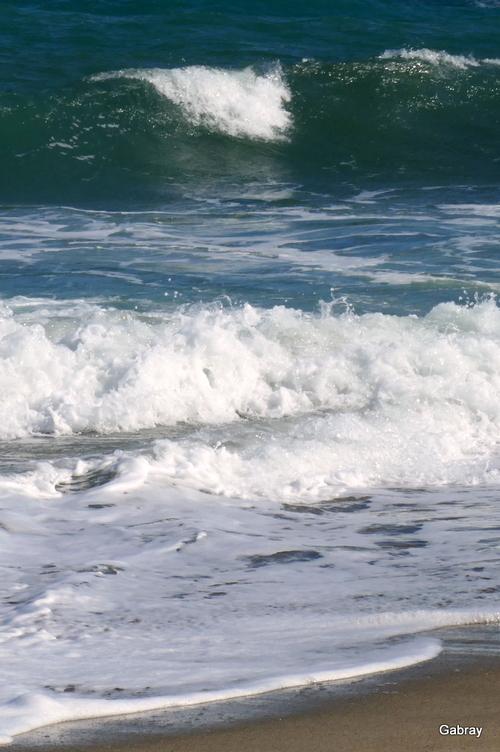 Le vent & le soleil: les vagues