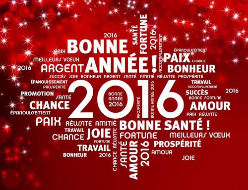 Bonne Année 2016 !!!