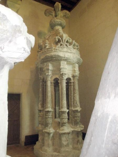 Chambord, La Tour Lanterne au musée lapidaire