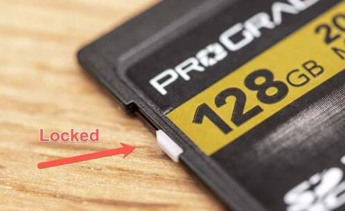 How to Unlock an SD Card that's Write Protected