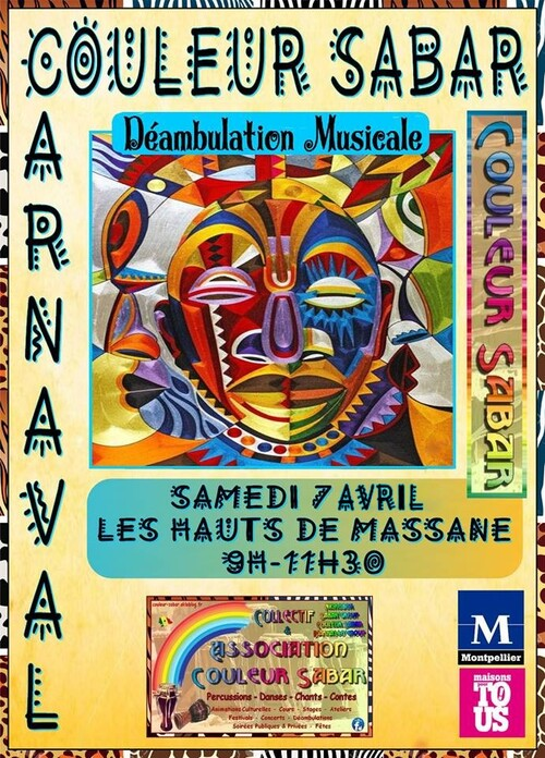 ★ Carnaval | Animation Musicale & Déambulation [Sam 7 Avril]