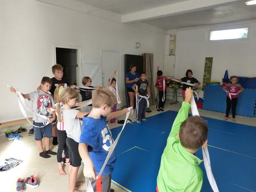 Mercredi 16 septembre , journée du sport scolaire à l'école de Camplong