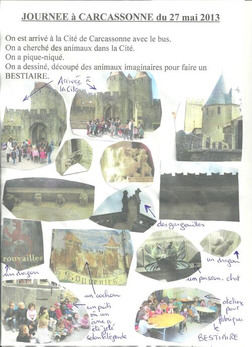 Sortie à Carcassonne