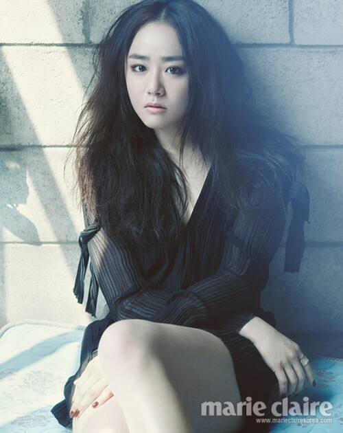 Moon Geun Young pour Marie Claire