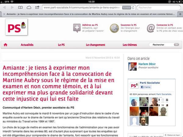 Le mensonge quotidien de la gauche: c'est la faute de Sarkozy.