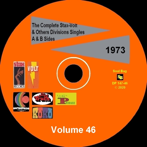""" The Complete Stax-Volt Singles A & B Sides Vol. 46 Stax & Volt Records & Others Divisions "" SB Records DP 147-46 [ FR ]"
