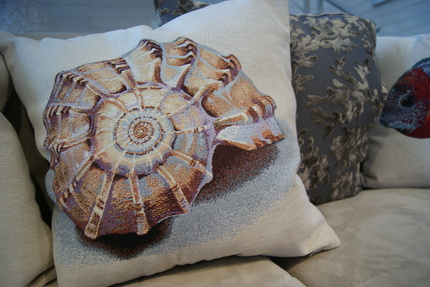 coussin 'Sea shell'