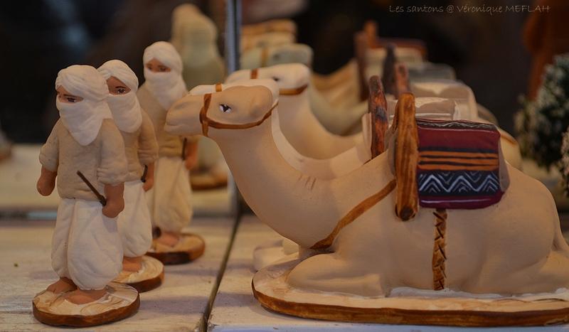 Marché de Noël : Les santons