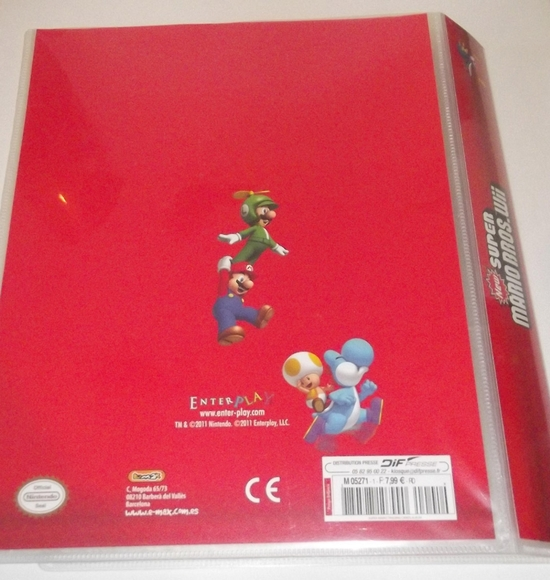 panini new super mario bros wii card 03
