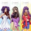 kotomi, tomoyo and kyou