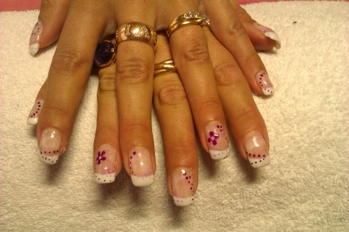 French au nail art fraicheur