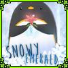 Snowy Emerald