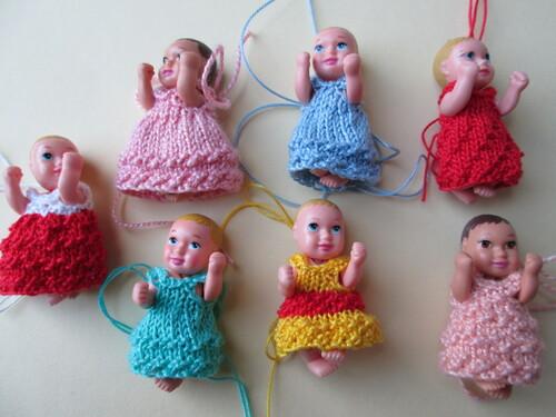 Robes pour nouveaux-nés barbie