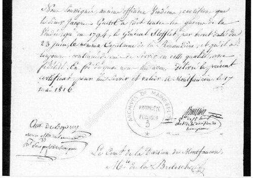 René Bretaudeau, de la Renaudière....