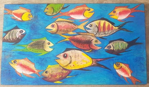 Tableau poissons.