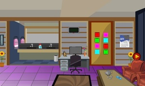 Jouer à Beauty purple room escape