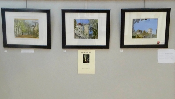 Le Salon d'automne 2014, du Club des Amis des Arts de Montbard