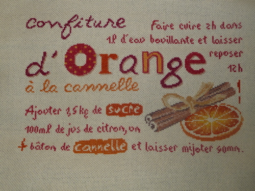 Sal confiture d'orange *11 et *12