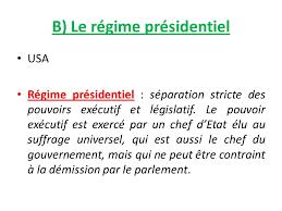 """Résultat de recherche d'images pour """"régime présidentiel"""""""