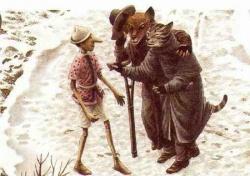 Pinokio et les cinq pièces d'or (C. COLLODI)