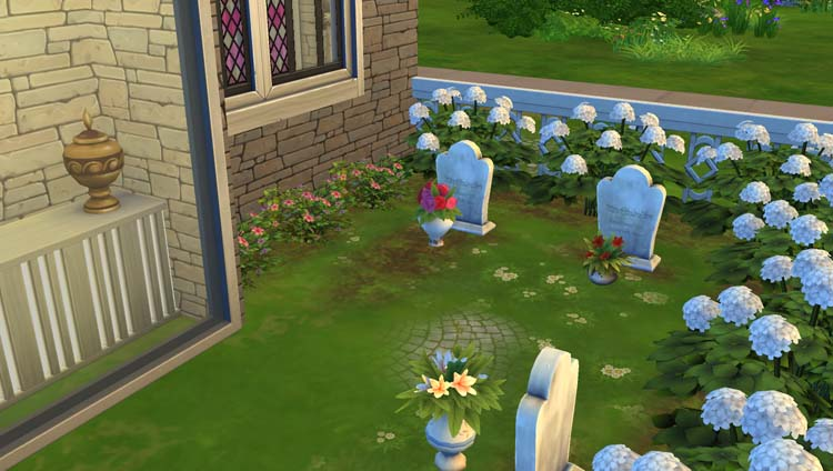 L'église du Saint-Lama Volant #Sims4