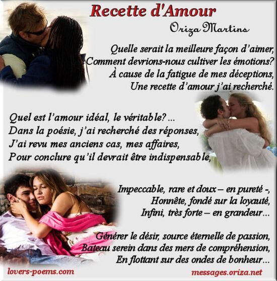 Recette d'Amour