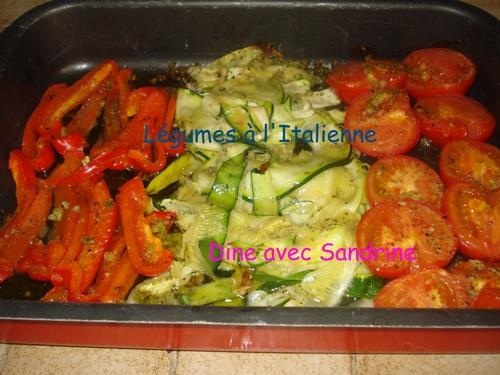 Des Légumes à l'Italienne