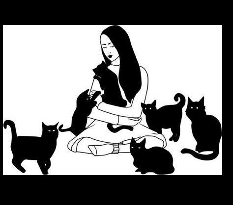 Tubes On aime les chats