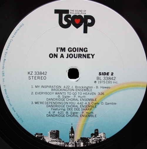 """1975 : Various Artists : Album """" I'm Going On A Journey """" TSOP Records KZ 33842 [ US ]"""
