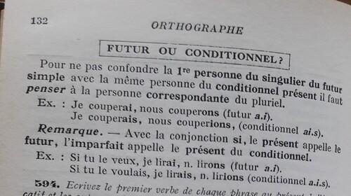 F / Futur ou conditionnel ?