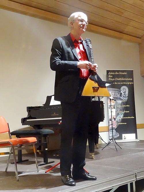 Un superbe concert du Trio Makarenko a été offert aux Châtillonnais, par les Amis du Musée