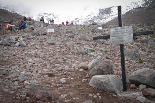 Chimborazo, la montagne la plus haute du monde...