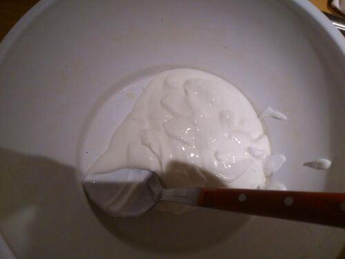 Gâteau au yaourt marbré/zébré pour faire comme tout le monde ^^