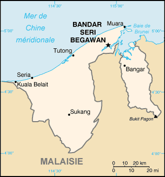 Brunei carte