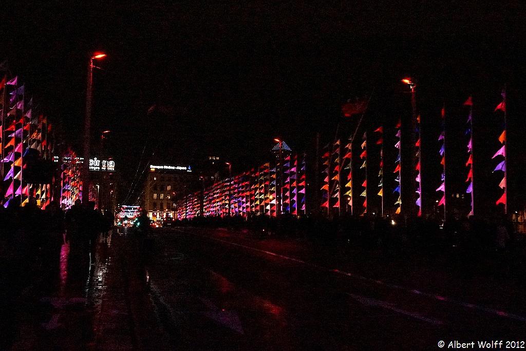 Lyon ou la symphonie des couleurs : Pont Lafayette