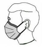 Distribution de masques barrières à La Neuville