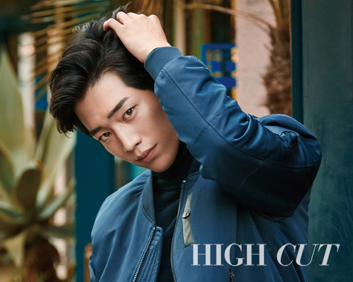 Seo Kang Joon et Lee Ho Jung pour High Cut