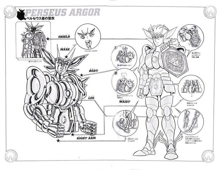 IX - Armure de Persée (Perseus cloth)