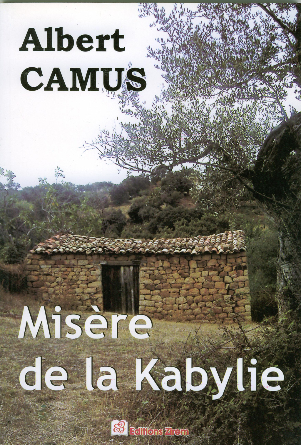 Couverture  Albert Camus