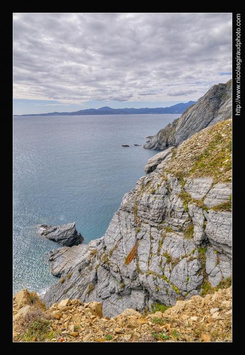 Le Cap Cerbère, Frontière Catalane Franco-Espagnol